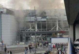Brüksel'deki 2 ayrı patlamadan 5 kare