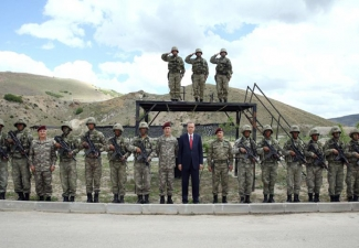 Erdoğan'ın Özel Kuvvetler ziyaretinden 14 kare