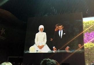 Sümeyye Erdoğan ile Selçuk Bayraktar'ın nikahından çarpıcı 15 kare