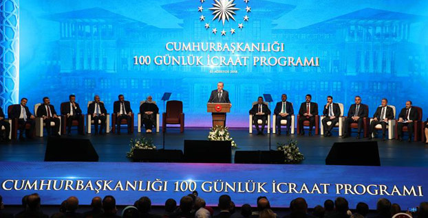 Başkan Erdoğan '100 Günlük Eylem Planı'nı açıkladı...  İşte detaylar