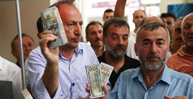 Esnafın Türk lirasına desteği büyüyerek sürüyor