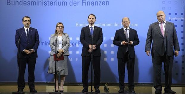Almanya'daki kritik ekonomi zirvesi sona erdi: Yeni bir dönem başladı