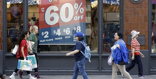 ABD'de perakende satışlar 6 ayın en düşüğünü gördü