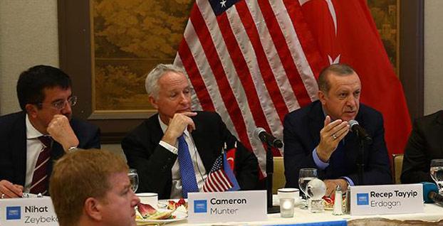 Başkan Erdoğan ABD'de yatırımcı ve iş çevreleriyle görüşecek