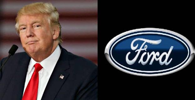 Ford'dan Trump'ı kızdıracak cevap