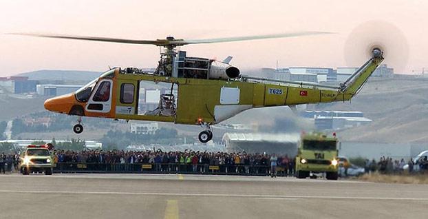Kendi imkanlarıyla helikopter uçurabilen 7'inci ülke Türkiye