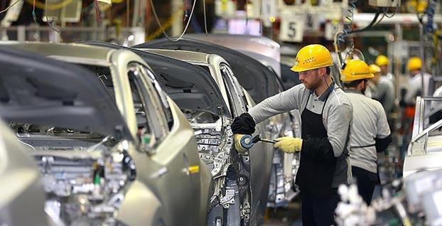 Otomotiv üretimi yüzde 3 azaldı