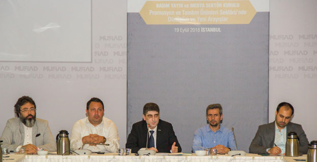 Promosyon sektörü MÜSİAD'da masaya yatırıldı
