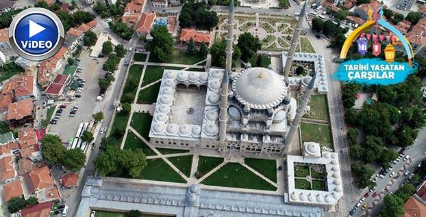 Selimiye'nin gelir kapısı 'Arasta Çarşısı' | VİDEO