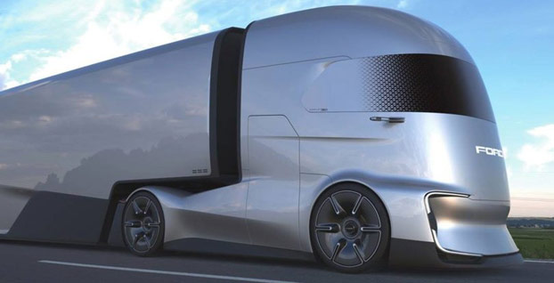 Tesla'nın elektrikli kamyonu varsa bizim de 'F-Vision'umuz var