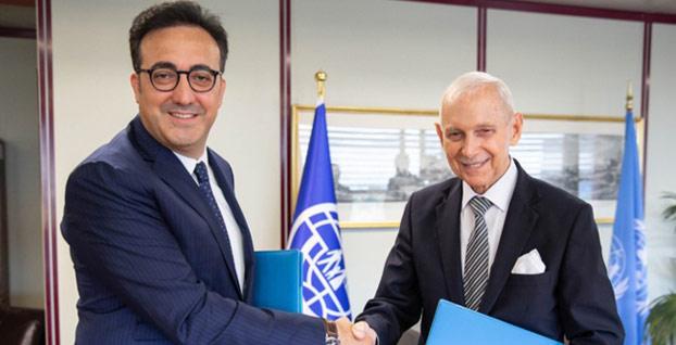 THY ve IOM arasında uzun vadeli ortaklık anlaşması