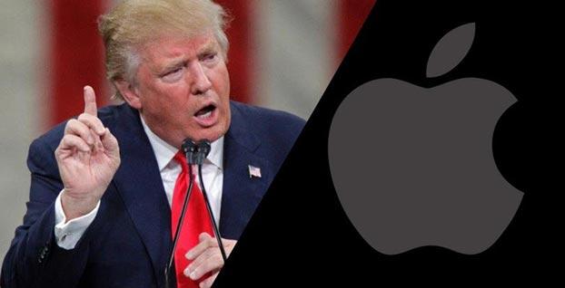 Trump'tan Apple'a çağrı