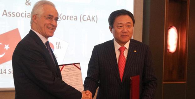 Türk ve Güney Koreli müteahhitlerden işbirliği kararı