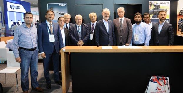 Yerli firmalar SAHA EXPO'da dünya pazarlarına kapı araladı