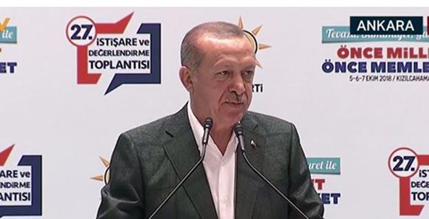 Başkan Erdoğan 'McKinsey' konusunda noktayı koydu