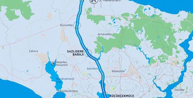 Kanal İstanbul'da 'yeni şehir' için ilk büyük adım