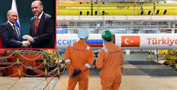 Türk Akımı Projesi'nde büyük gün... Erdoğan ile Putin'de olacak