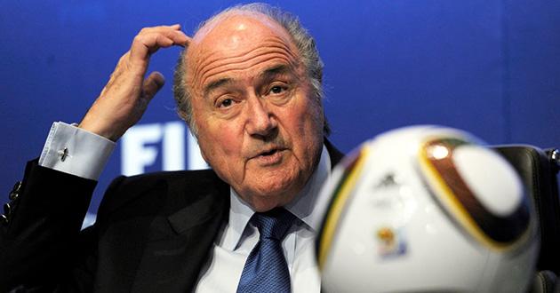 Blatter'in istifasına ilginç yorum: Futbol için harika bir gün