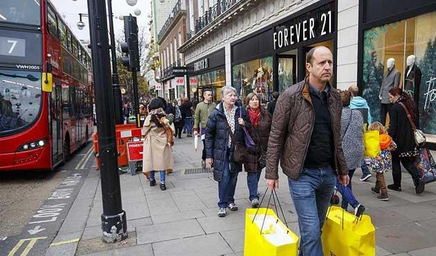 İngiltere'de enflasyon 2 yılın en yükseğinde