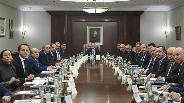 İstanbul Uluslararası Finans Merkezi toplantısı yapıldı