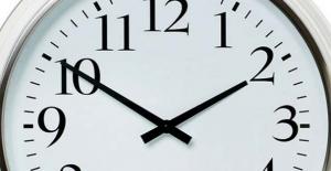 Saatlere dikkat... Kafanız karışmasın