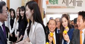 Güney Kore'den Kuzey'e mandalinalı karşılık
