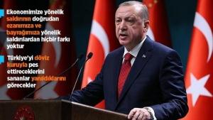 Erdoğan'dan 'ekonomik saldırı' vurgulu Kurban Bayramı mesajı