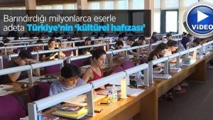 Türkiye'nin kültürel hafızası: Milli Kütüphane