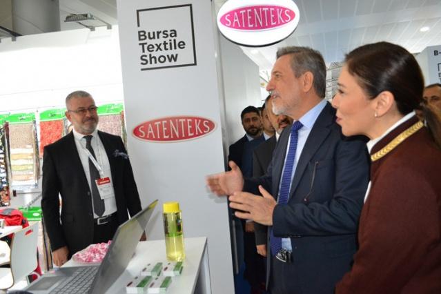 Tekstil modasının kalbi Bursa'da atıyor