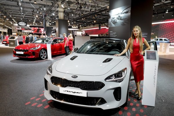 Moskova 2018 Uluslararası Otomobil Fuarı