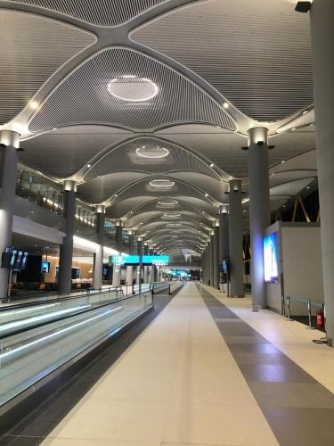 Yeni Havalimanı'ndan son görüntüler