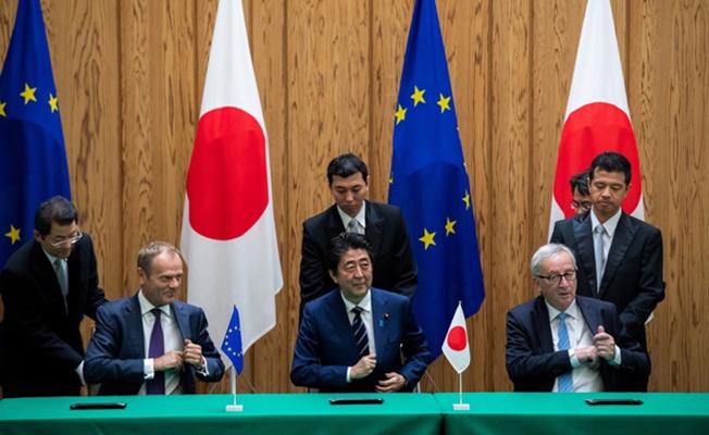 AB ile Japonya ticari sınırları kaldırdı