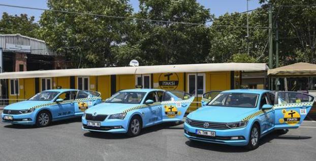 İstanbul'un yeni taksileri