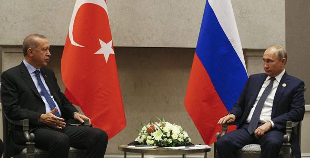 Başkan Erdoğan ile Putin'den durum değerlendirmesi