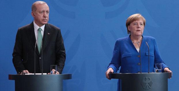 Erdoğan ve Merkel ekonomiyi görüşecek