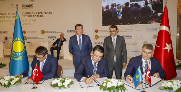 Türkiye ile Kazakistan arasında milyar dolarlık anlaşma