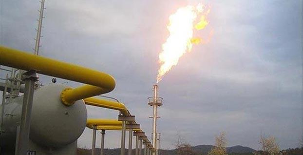 Doğal gaz ithalatı azaldı, stoklar arttı