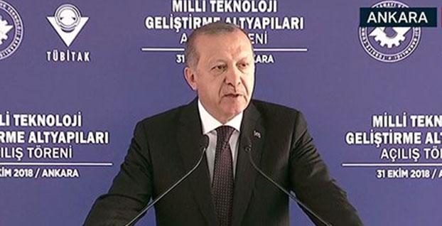 Erdoğan, milli hava füze savunma sisteminin adını açıkladı