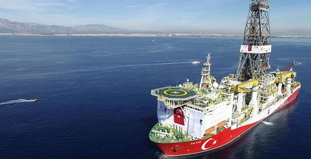 Fatih, Akdeniz'de ilk seferine çıktı - VİDEO