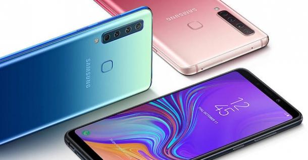 Samsung dört arka kameralı Galaxy A9'u tanıttı