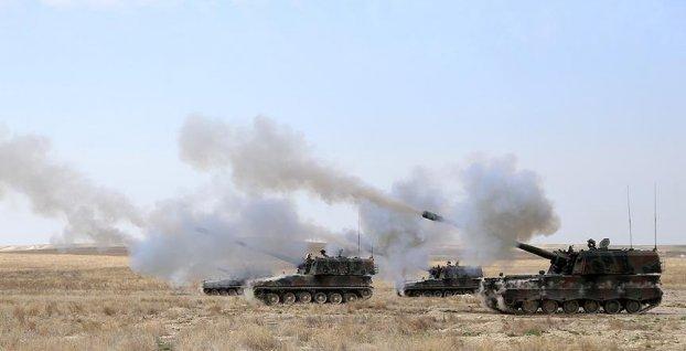 TSK, Fırat'ın Doğusunda terör örgütü PKK-YPG'yi vurdu