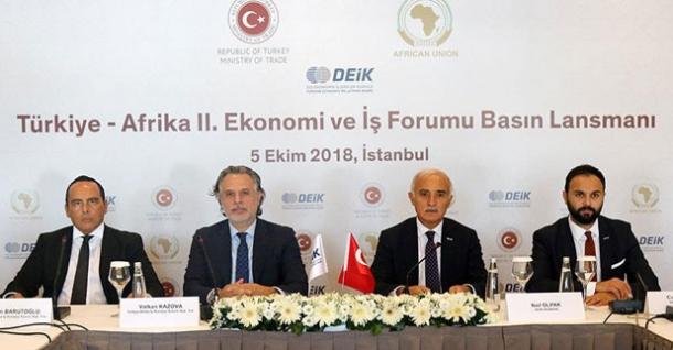 Türkiye- Afrika Ekonomi ve İş Forumu'nda etkinlik takvimi belli oldu