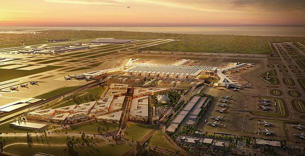 Yeni Havalimanı'nda 55 bin kişiye eş zamanlı hızlı internet