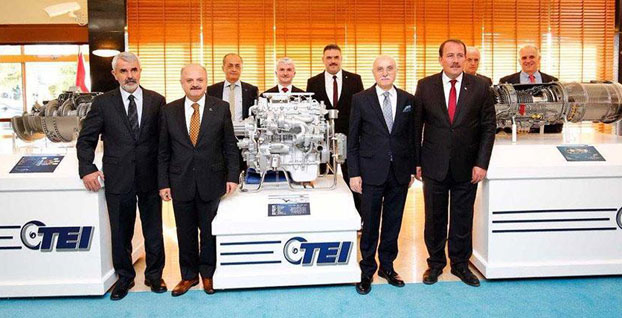 ANKA ve T625'in motorları test edildi