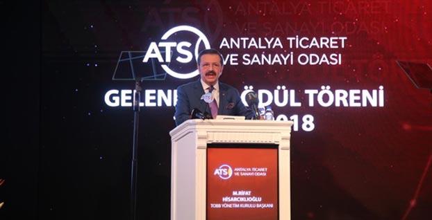TOBB Başkanı Rifat Hisarcıklıoğlu: Eldekini muhafaza etme dönemi