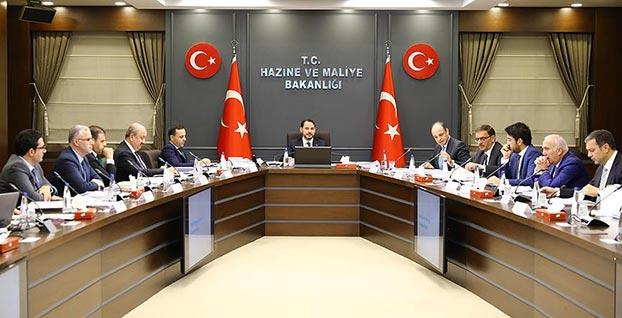 Finansal İstikrar ve Kalkınma Komitesi ilk toplantısını Albayrak başkanlığında yaptı