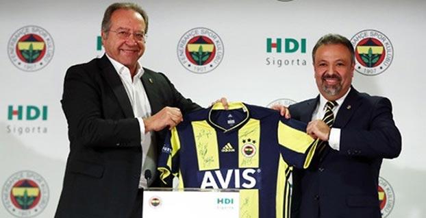 HDI, Fenerbahçe Futbol Takımı'nın sigorta sponsoru oldu