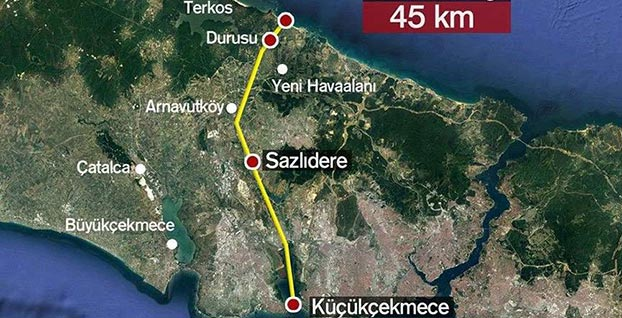 Kanal İstanbul projesi ile ilgili sıcak gelişme