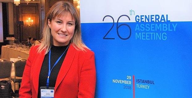MEDREG'e Türk kadın başkan