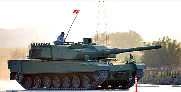 Milli tank Altay'ın seri üretimi başlıyor / VİDEO